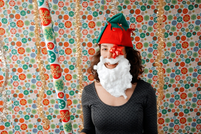 Christmas Photo Booth 2014 #veggieangie