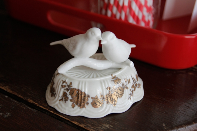 Dim and Sum Ceramic Lovebirds #VeggieAngie